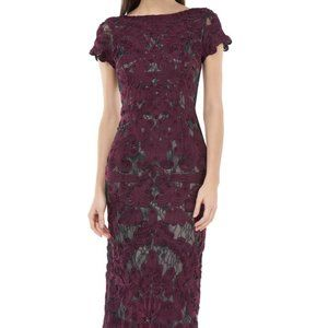 JS Collections Lace Midi Dress 10